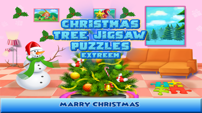 Christmas Tree Jigsaw Puzzles Extreme screenshot one