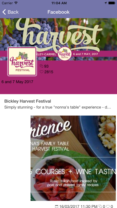 Bickley Harvest Festival screenshot three