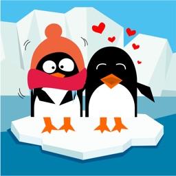 Забавные пингвины - стикеры для iMessage