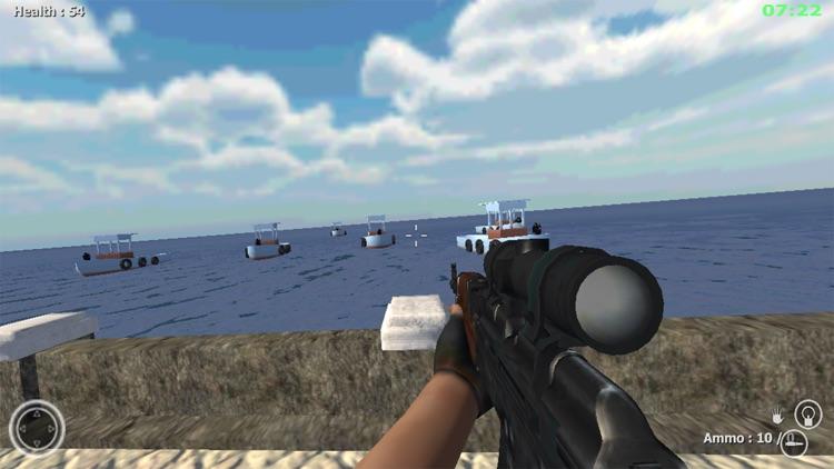 Commando Behind EnemyLines Sniper Combat Blackouts screenshot-3