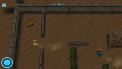 3D Tank Wars Battle screenshot two