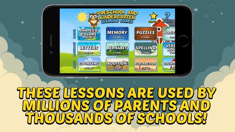 Preschool and Kindergarten Learning Games