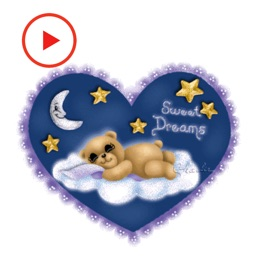 Good Night Animated Stickerss
