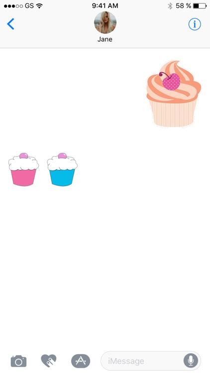 Cupcake Sticker Pack!