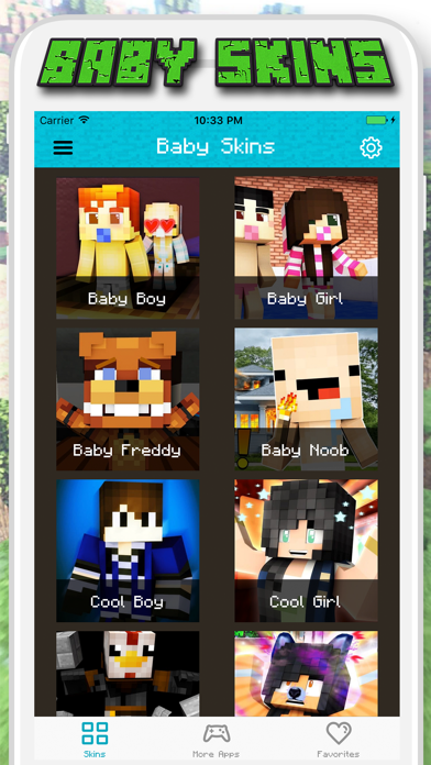 Baby Skins for Minecraft PE - Pocket Edition Screenshot
