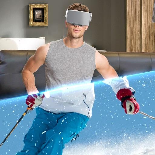 VR Лыжи Зима Симулятор