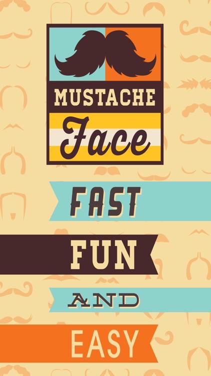 Mustache Face Facial Hair Beard & Photo FX Filter screenshot-4