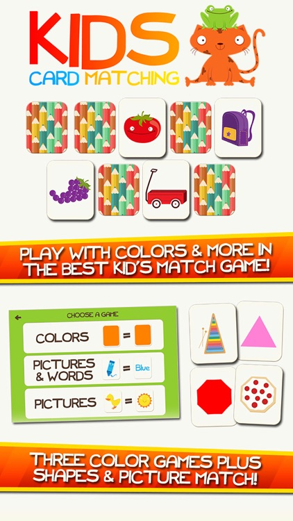 Learn Colors Shapes Preschool Games for Kids Games screenshot-0
