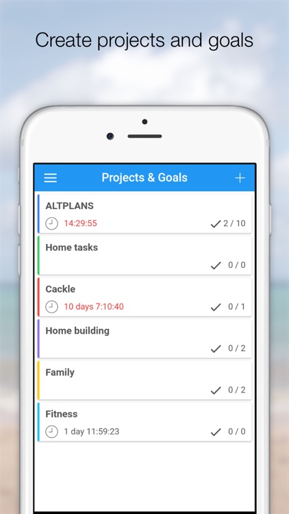 Altplans - To do list