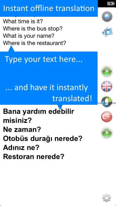 Screenshot for Offline Translator Turkish Pro in Azerbaijan App Store