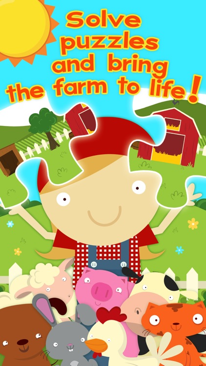 Farm Games Animal Games for Kids Puzzles Free Apps