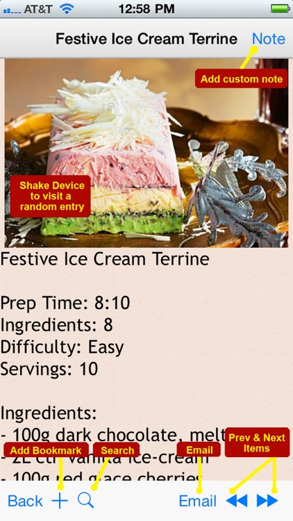 380 Ice Cream Recipes screenshot-4
