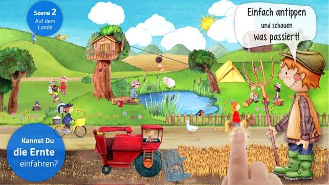Mein Bauernhof: Tiere & Traktoren Kinder Wimmelapp Screenshot