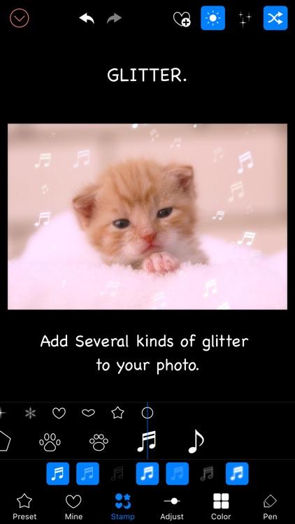 Glitter Photo Editor Lite screenshot-3