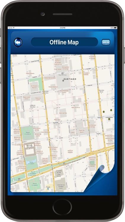 Santiago Chile - Offline Maps navigator