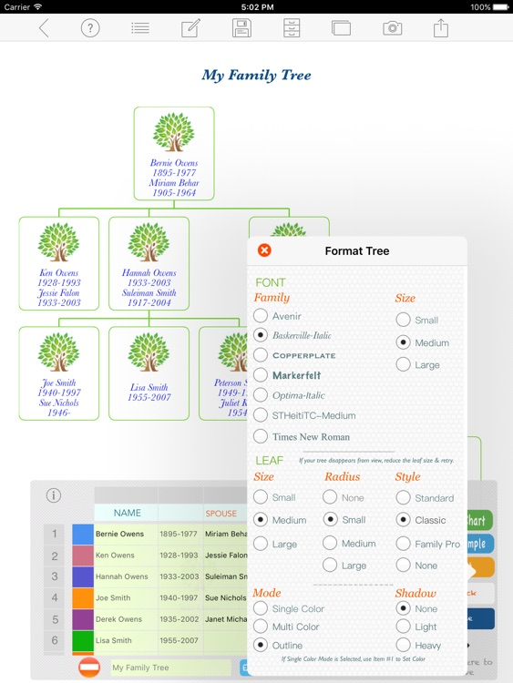 Family Tree Builder screenshot-3