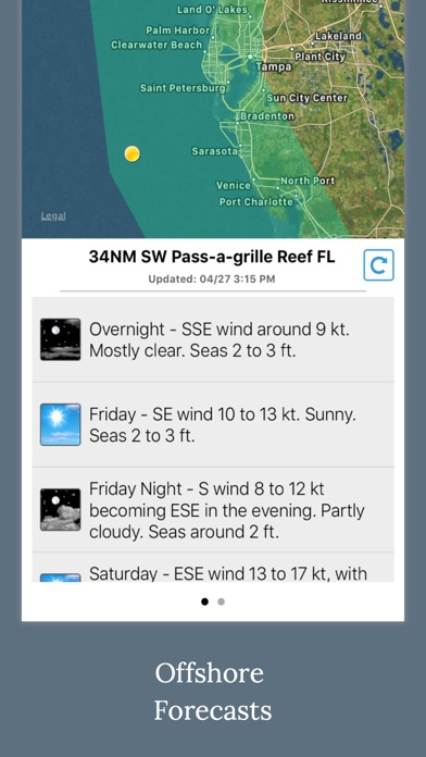 Florida Boating Weather review screenshots