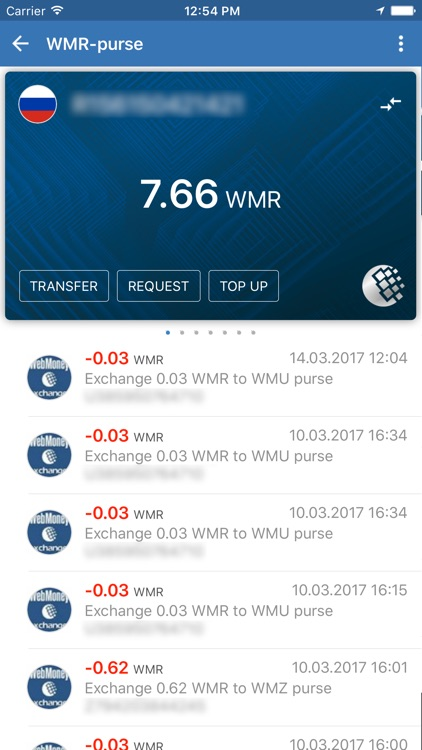 WebMoney Keeper screenshot-3