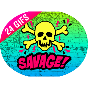 Savage Sayings iSticker app