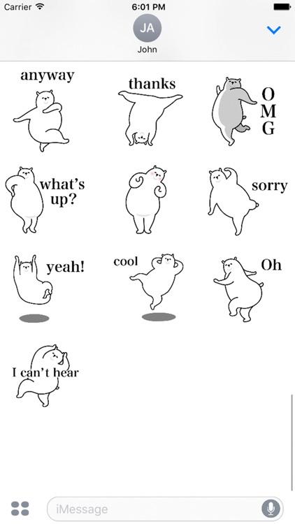 Dancing polar bear screenshot-3