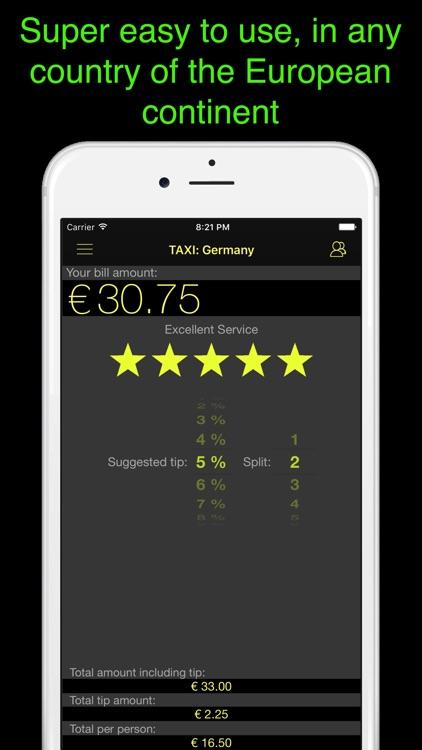 Europe Tip Calculator - for all European countries