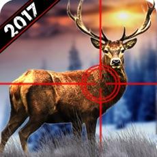 Activities of Wild Deer Hunting 2017: Snow Sniper Shooting 3D