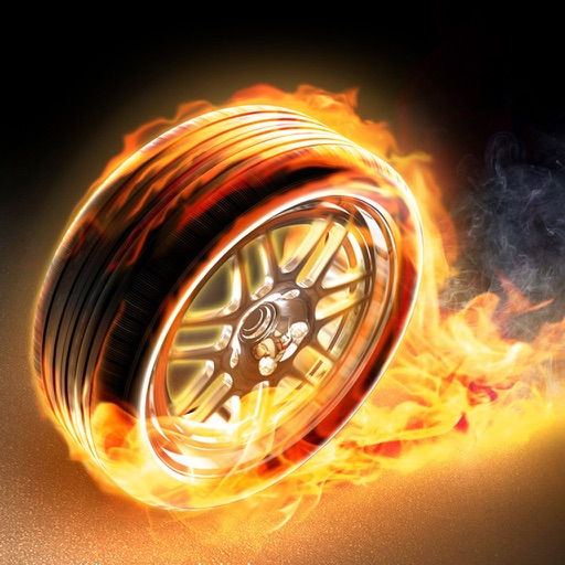 Rolling Boom Wheels-Fun Moto Happy Run Racing Game