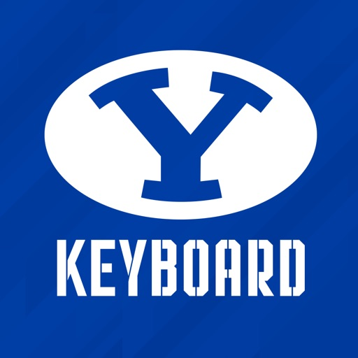 Rep the Y - BYU emoji keyboard