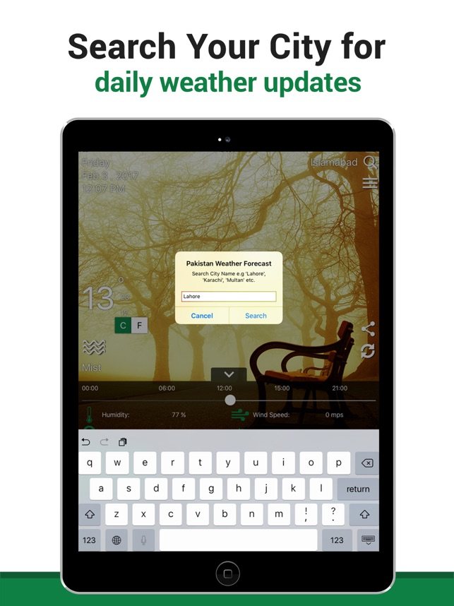 Pakistan Weather on the App Store