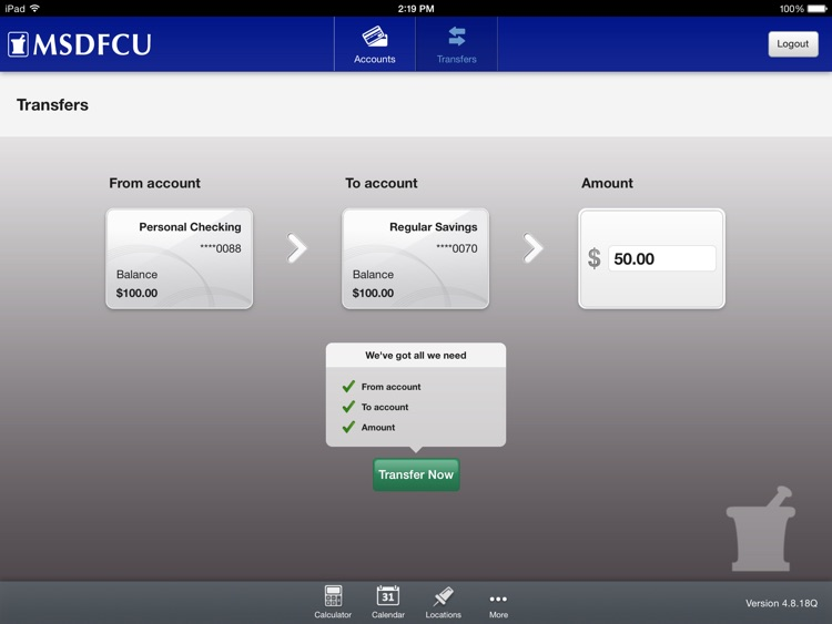Merck Sharp & Dohme FCU Mobile for iPad screenshot-3