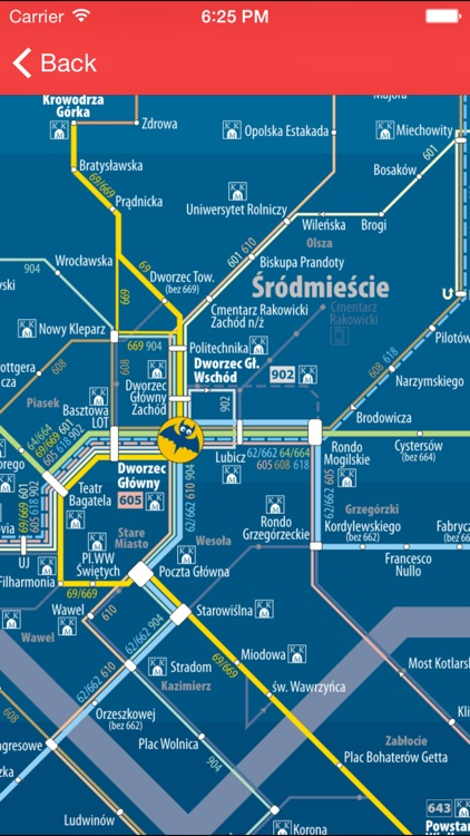 Krakow Public Transport Pro screenshot-3