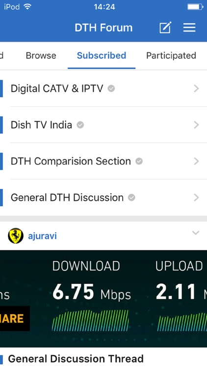 DTH Forum by Tapatalk