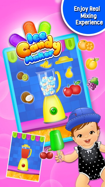Ice Candy Maker -  Ice Pop & Lolly Maker Kids Game