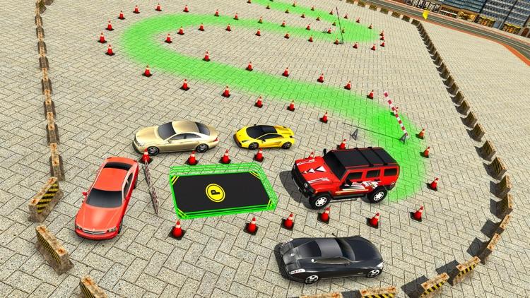 City Climb Prado Car Stunt Parking Simulator 3D screenshot-3