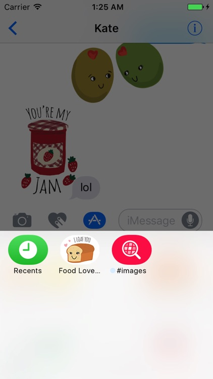 Food Love Sticker Pack screenshot-3