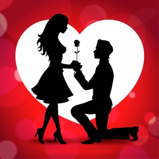 Valentine week love stickers 2017