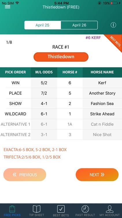 Guaranteed Tip Sheet - Horse Racing Picks app image