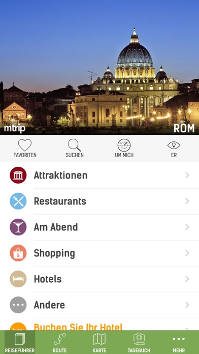 Rom Reiseführer (mit Offline Stadtplan) - mTripScreenshot von 1
