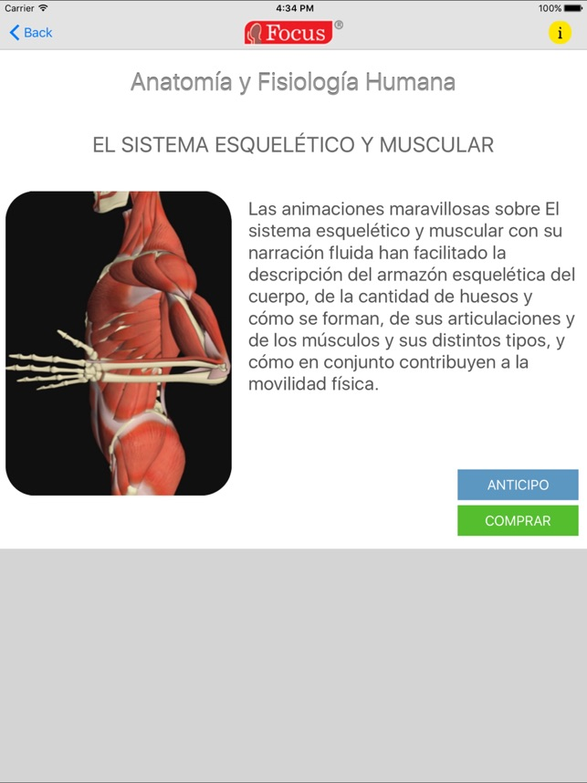 Anatomía y Fisiología Humana en App Store