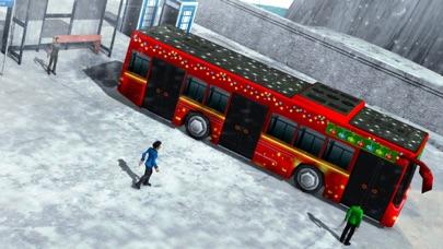 OffRoad Snow Bus Driving 2017-Hill Drive Simulator screenshot three