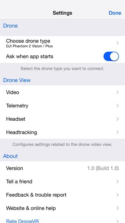 DroneVR - FPV for DJI drones screenshot-4