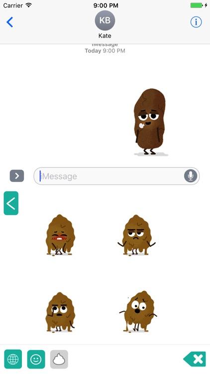 Poop Troop Emoji Keyboard screenshot-4