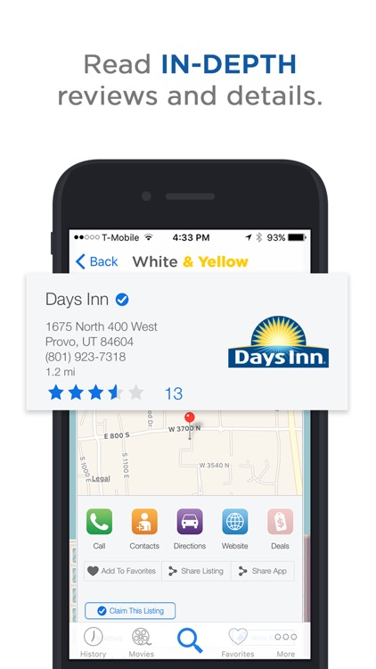 White & Yellow Pages screenshot-2