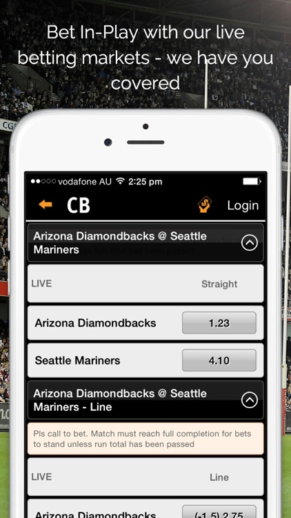 Centrebet Sports Betting