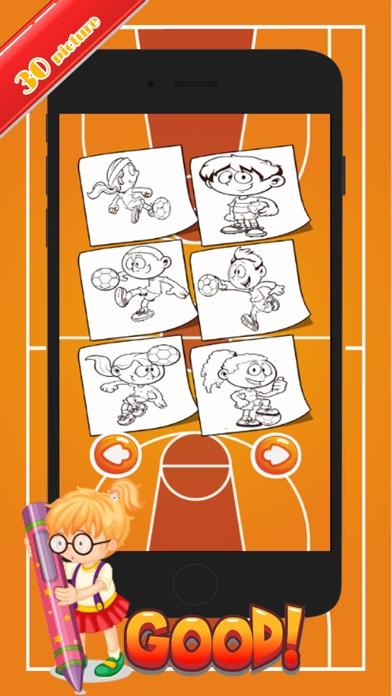 点击获取All Sport Coloring Marker For Kid and Kindergarten