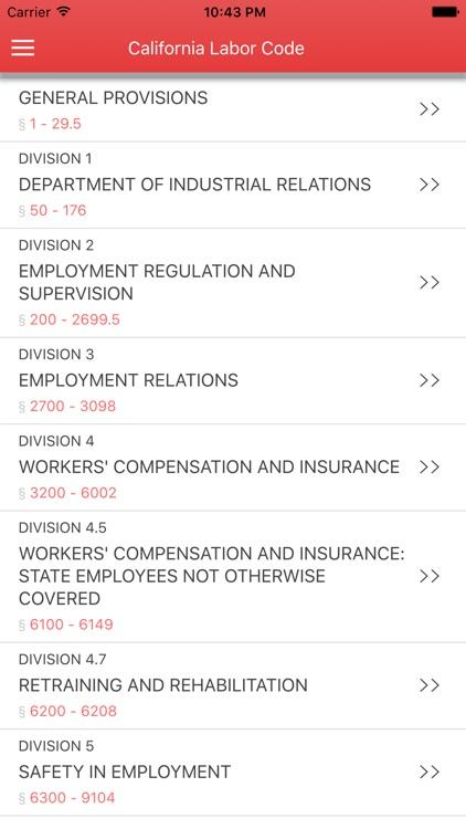 California Labor Code