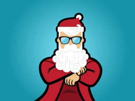 Bad Santa iMessage Stickers for Christmas