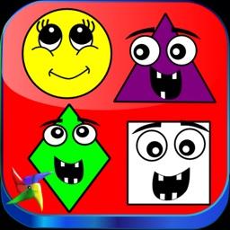 Kindergarten Learning Games : Shapes for Kids