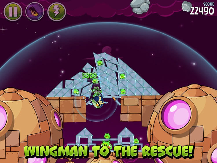 Angry Birds Space HD screenshot-2