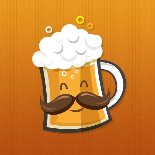 BeerMoji - beer stickers and emoji keyboard app